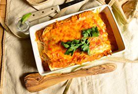 Pulled Pork Enchiladas with Smoke-Roasted Red Sauce