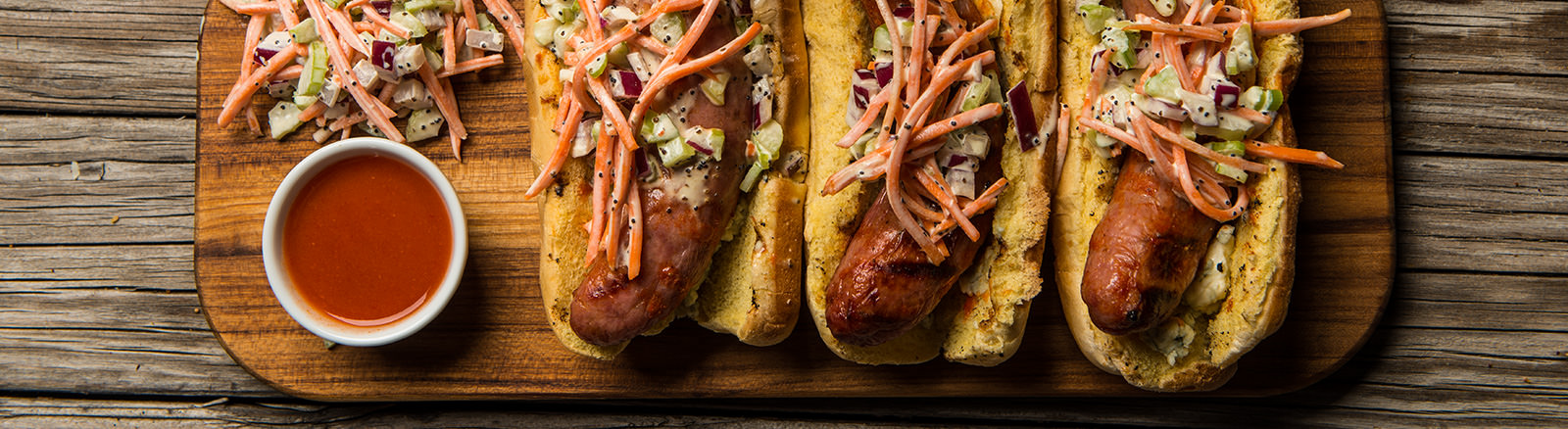 Buffalo Chicken Sausage with Bleu Cheese | Traeger Wood ...