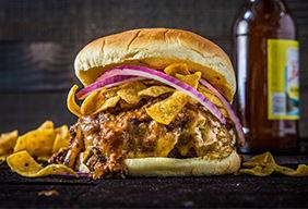 BBQ Chili Burger