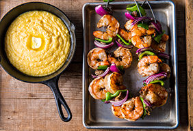 Smoked Shrimp and Grits