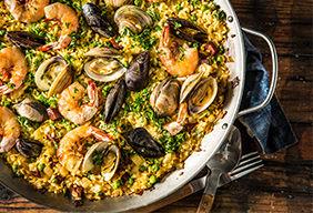 Smoked Seafood Paella by Amanda Haas