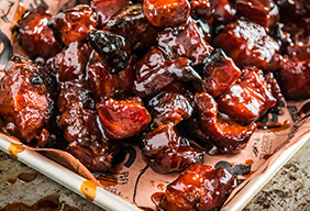 BBQ Pork Belly Burnt Ends by Matt Pittman