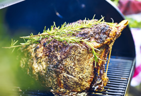 Roasted Horseradish-Crusted Prime Rib by Chef Tyler Florence