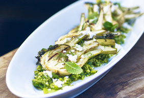 Roasted Fennel with Olive Tapenade by Chef Tyler Florence