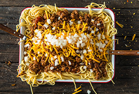 Braised Cincinnati Chili