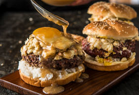 Grilled Loco Moco Burger