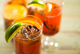 Charred Citrus & Grape Sangria