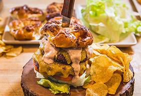 BBQ Smoked Burgers Recipe
