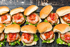 Spicy Pork Sliders