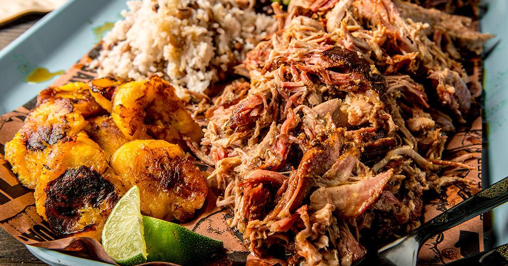 Pulled Pork På Gasgrill 6 Timer : Puerto rican bbq pork shoulder recipe traeger wood fired grills