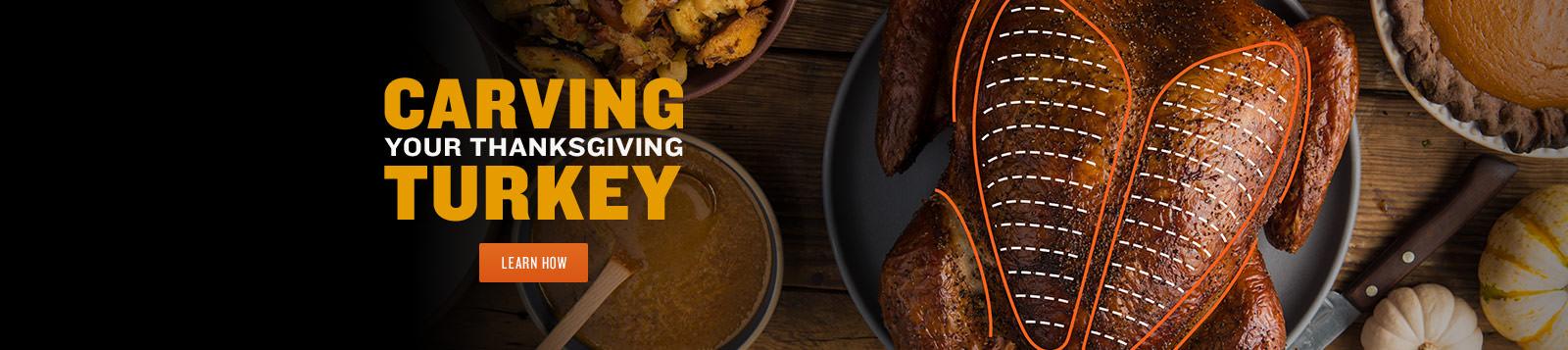 Thanksgiving Turkey Carving