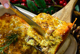 Holiday Breakfast Strata