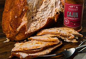 Cajun Brined Maple Smoked Turkey Breast