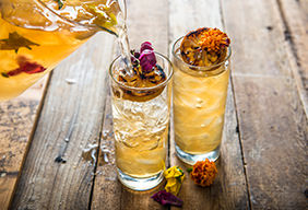 Smoked Spring Tea Cocktail