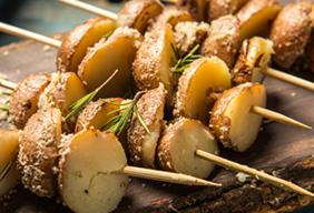 Red Potato Grilled Lollipops