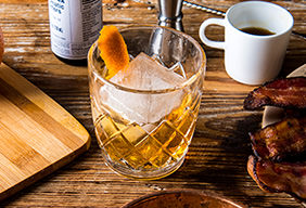 Bacon Old-Fashioned Cocktail by Jeffrey Morgenthaler