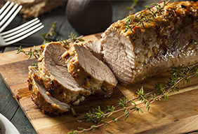 Pork Tenderloin With Garlic & Herbs