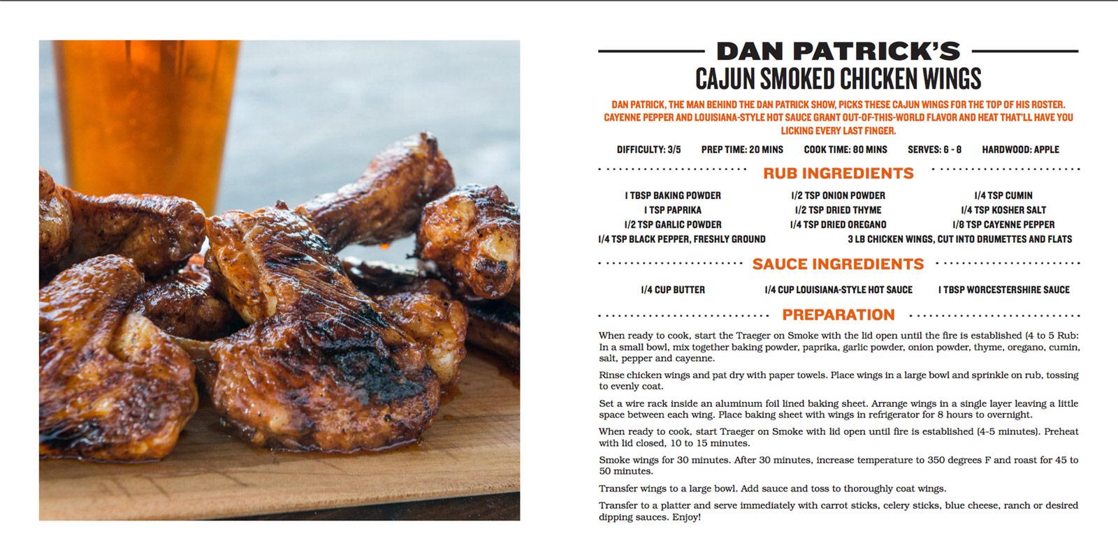 The Dan Patrick Show Recipe eBook