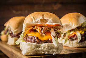 Grilled Beef Sliders by Amanda Haas