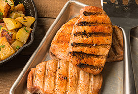 Seared BBQ Pork Chop