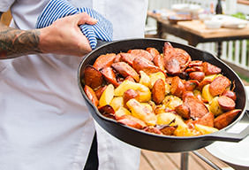 Smoked Sausage & Potatoes