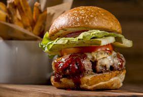 BBQ Kaiser Burgers Recipe