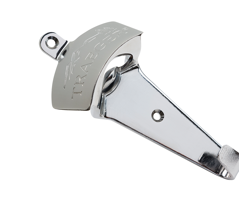 simply grab a drill and attach this sleek bottle opener directly to your hopper - Bottle Opener