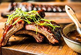Smoked Pork Ribs by Timothy Hollingsworth