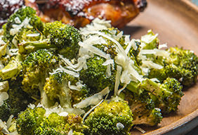 Roasted Broccoli with Parmesan