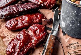 Smoked Wild Boar & Venison Protein Bars
