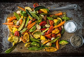 Grilled Vegetables with Lemon Herb Vinaigrette
