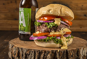 Traeger's Jack Cheeseburger
