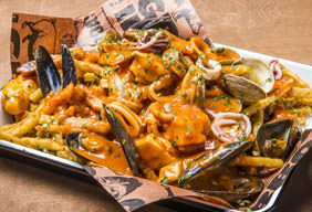 West Coast Cioppino Fries