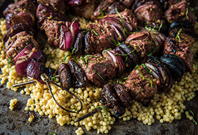 Grilled Lamb Kabobs