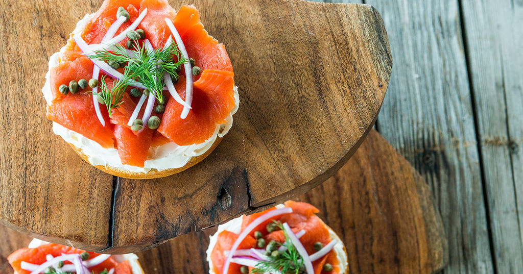 Smoked Salt Cured Lox