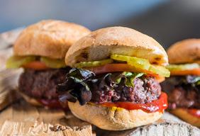Jalapeno Stuffed Bison Burgers