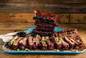 Gochujang-Marinated BBQ Pork Ribs by Chef Peter Cho