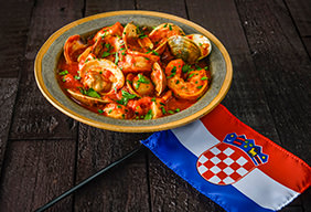 Croatian Brodet Fish Stew