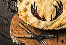 Baked Venison Meat Pie