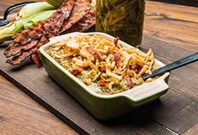 Bacon Green Bean Casserole