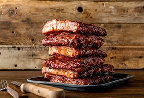BBQ Paleo Pork Spare Ribs