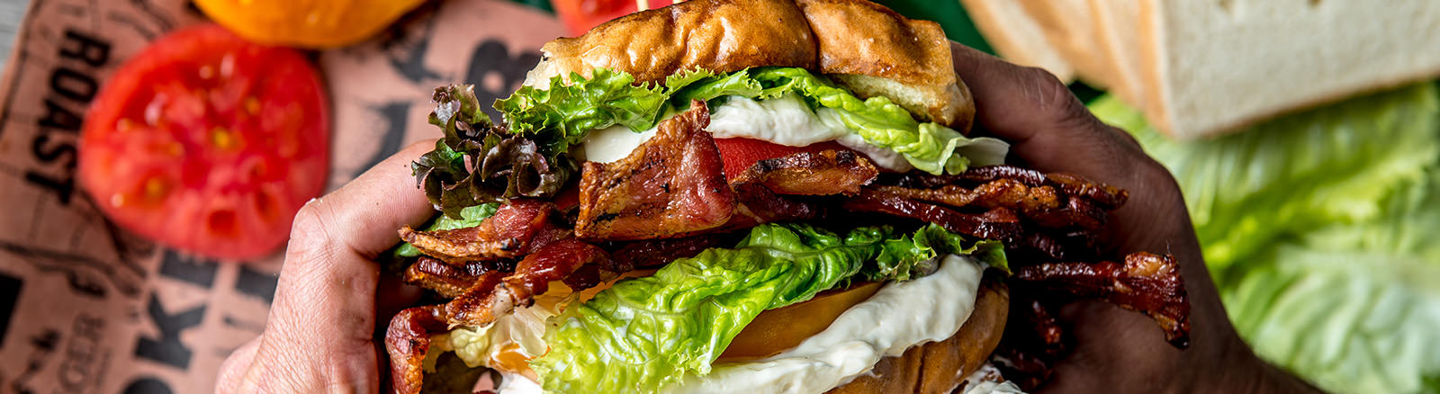 Smoked BLT Sandwich