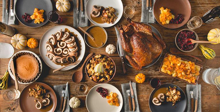 Thanksgiving Dinner Culinary Menu