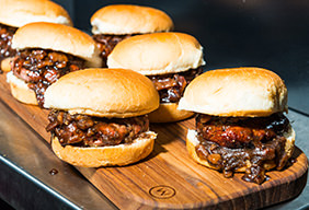 Grilled Bison Sliders