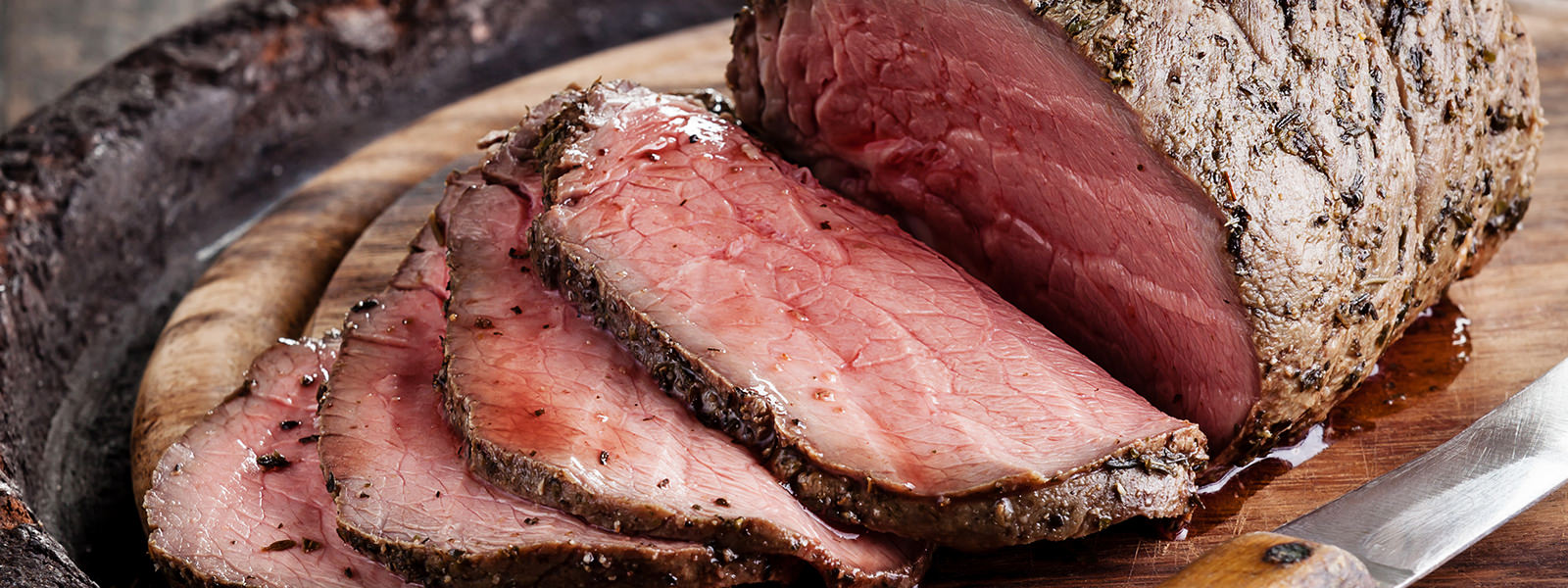 how to cook striploin roast beef