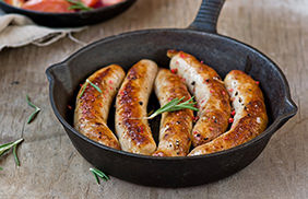 Apricot Glazed Breakfast Sausage