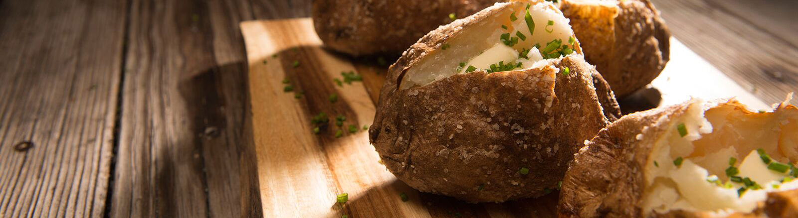 Salted Baked Potatoes