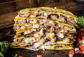 Grilled Skirt Steak Quesadillas