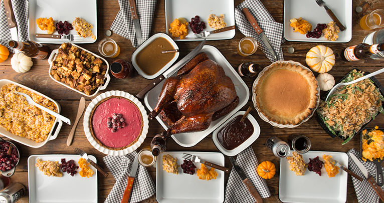 Thanksgiving Dinner BBQ Menu