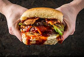 Venison BBQ Burger by Nikki Boxler